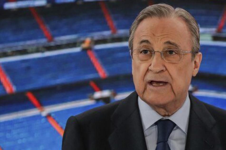 """Super-League-Godfather Pérez sieht's nicht ein! Real-Präsident: """"Du kannst nicht einfach gehen"""""""
