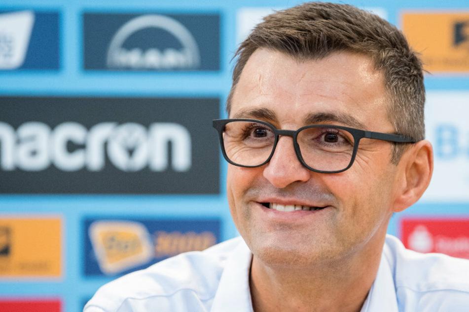 Michael Köllner (50) will mit dem TSV 1860 München aufsteigen.
