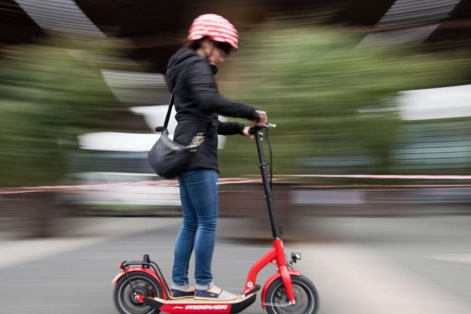 Elektro-Scooter erreichen eine Geschwindigkeit von bis zu 20 km/h.