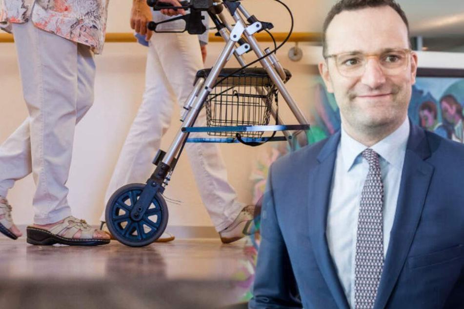Hartnäckige Briefe: Gesundheitsminister Spahn trifft Krankenpflegerin
