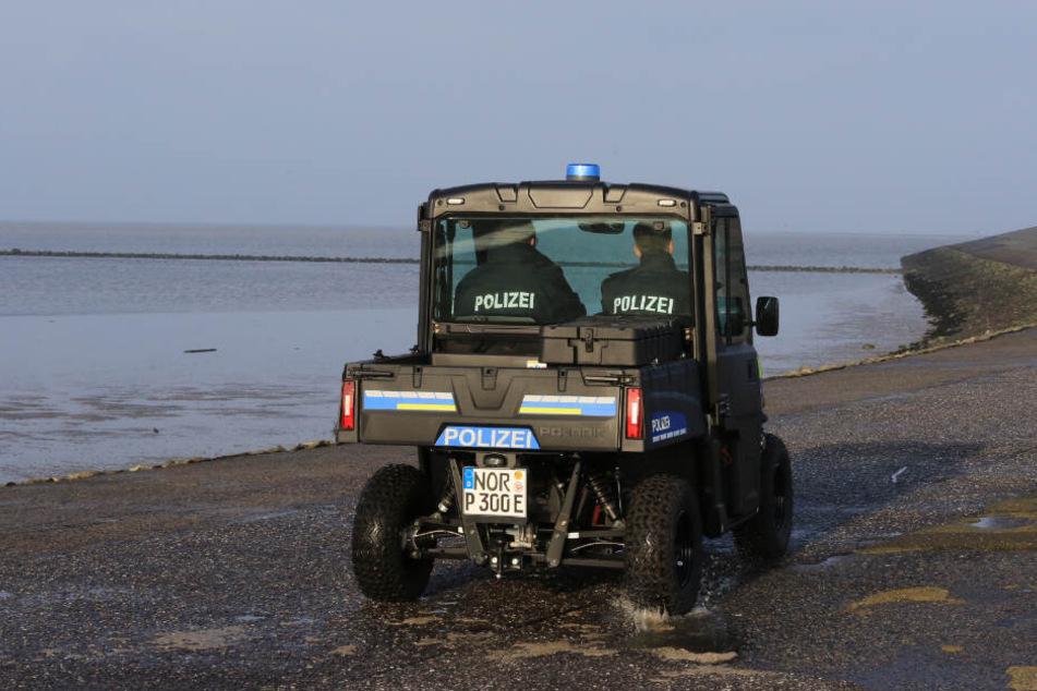 Selbst am Strand kann die Polizei nun die Verfolgung aufnehmen.