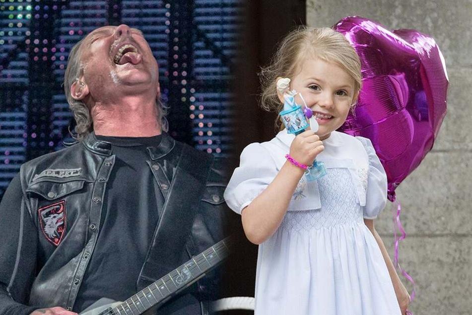 Rock On! Schwedische Prinzessin (7) bei Metallica-Konzert!