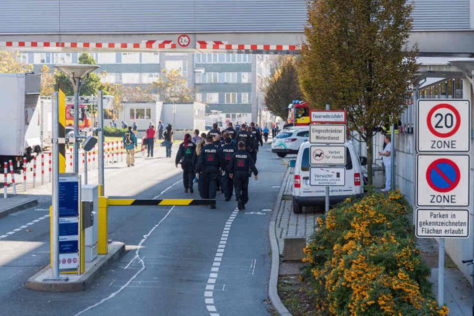 Gegen das Uniklinikum Jena gab es eine Bombendrohung.