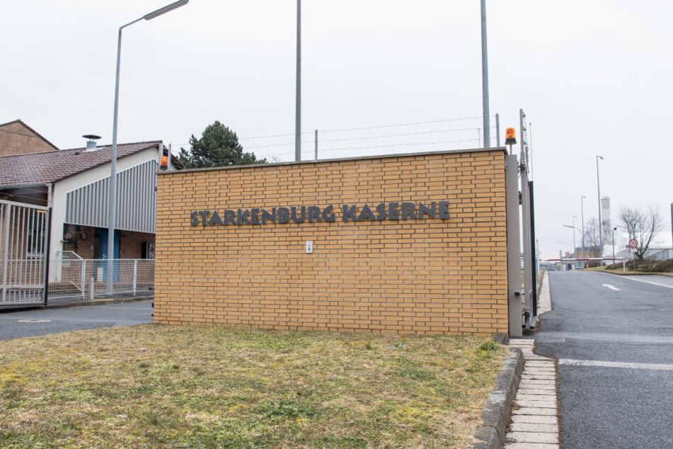 Rund 200 Angestellte der Bundeswehr sind aktuell in der Starkenburg Kaserne stationiert. Bald soll hier Platz für neuen Wohnraum geschaffen werden.