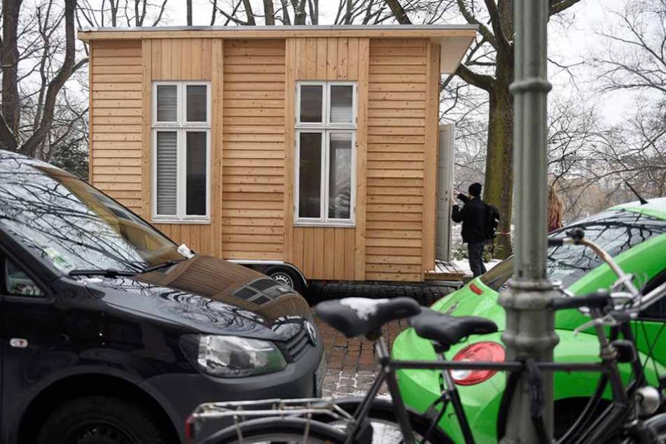 Solche Häuschen könnten bald auf den Berliner Dächern stehen.