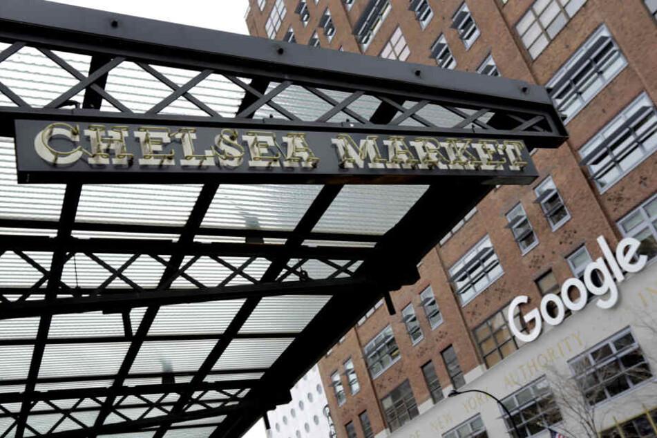 Der Google-Hauptsitz in New York.