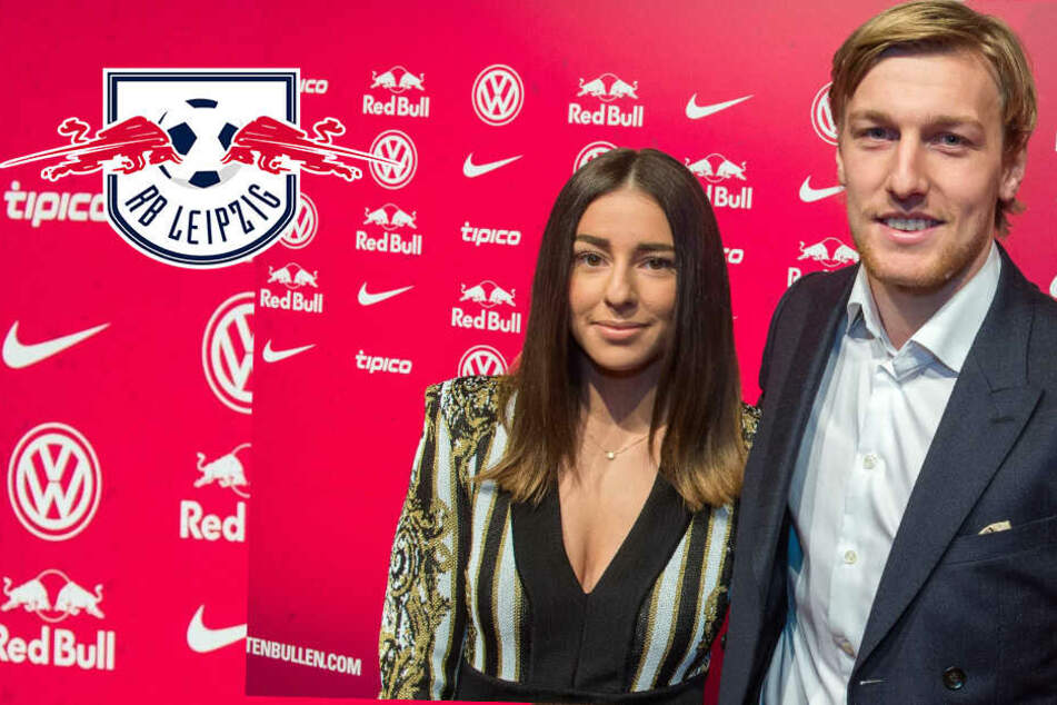 "RB Leipzigs Forsberg ""wie Scheiße"" behandelt? Emil dankt seiner Frau Shanga"