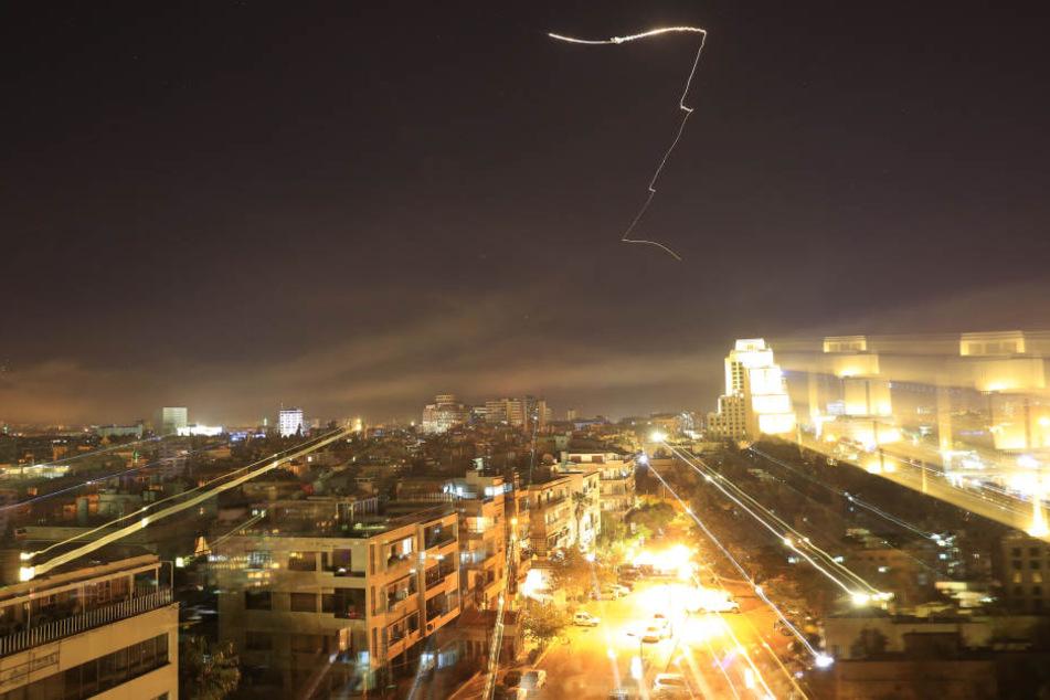 In der Nacht zu Samstag haben die Westmächte einen Militärschlag gegen Syrien gestartet.