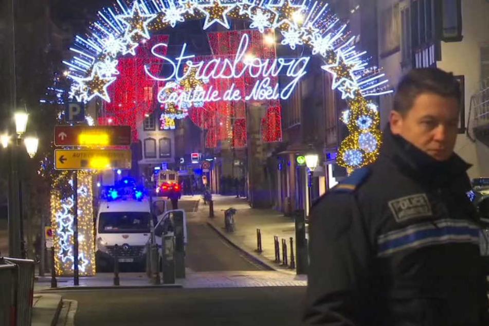 Terror in Straßburg mit drei Toten: Die Jagd nach dem Täter geht weiter