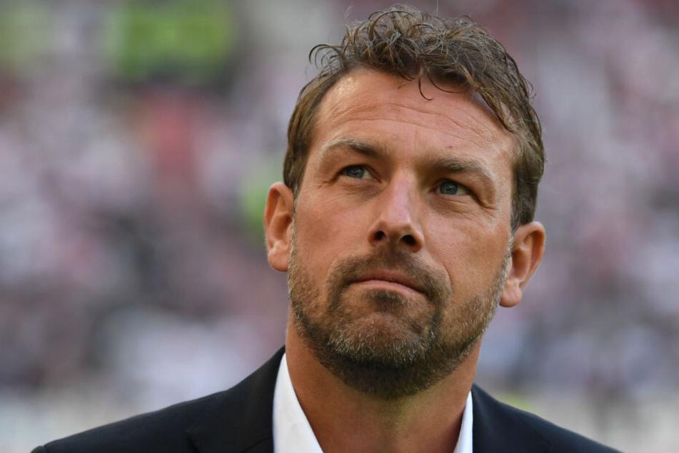 Trainer Markus Weinzierl wird die Schwaben auch weiterhin coachen - vorerst.