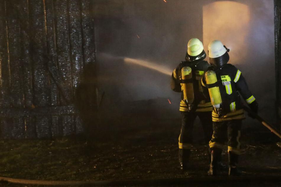 """""""Funkenfeuer"""" soll den Winter vertreiben und sorgt für einen Museumsbrand"""