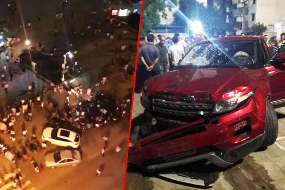 Mann rast ungebremst in Menschenmenge: Mehrere Tote, etliche Verletzte!