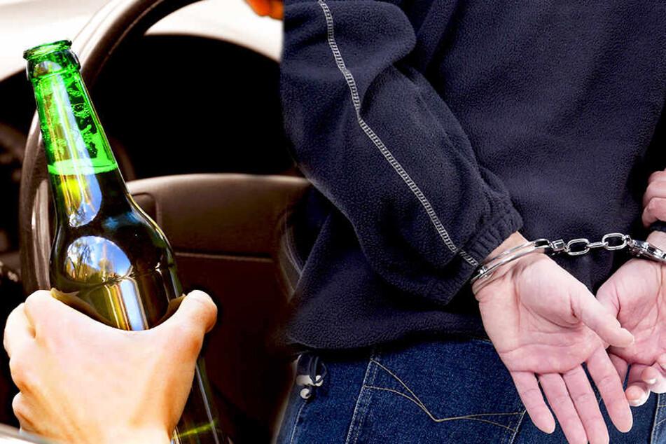 Betrunkener rastet nach Unfall aus: Polizist im Krankenhaus!
