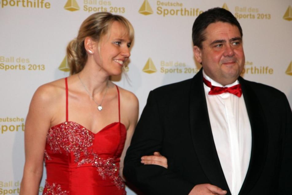 Sigmar Gabriel und seine Frau Anke erwarten 2017 Nachwuchs.