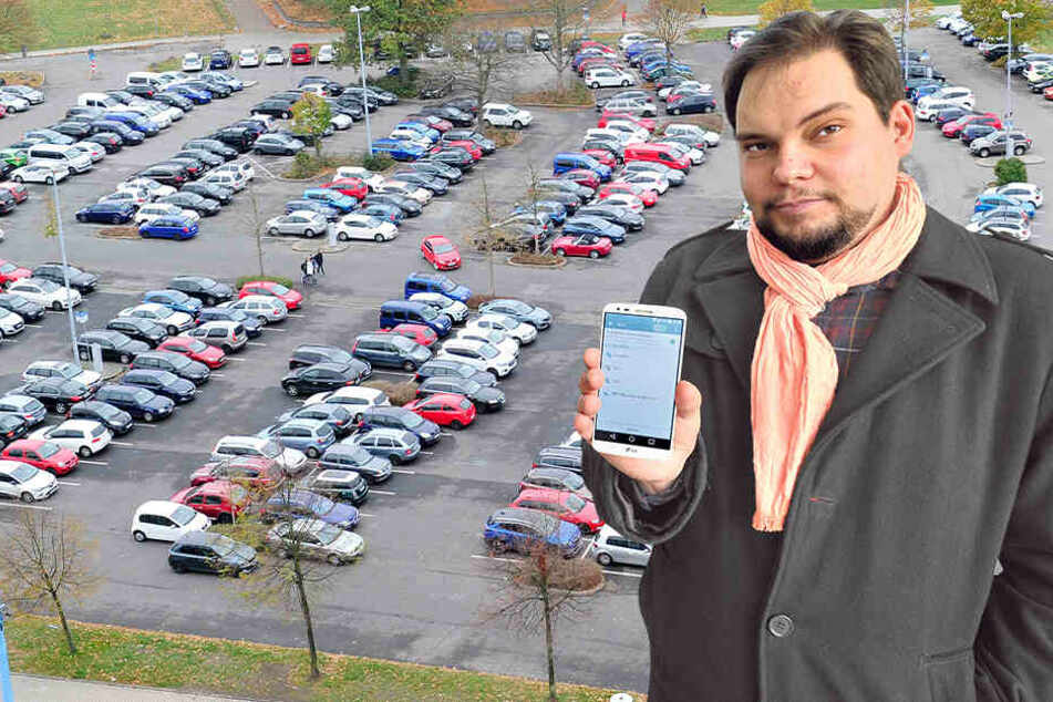 """Antrag zugestimmt: Chemnitz prüft """"Handy-Parken"""""""