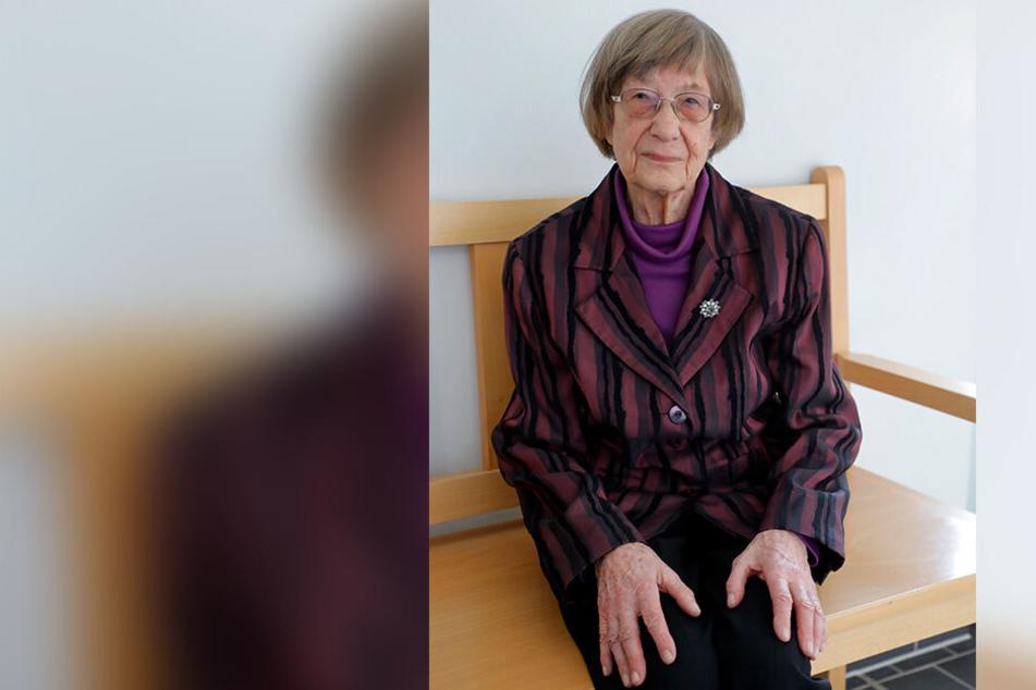 Sigrid Wille (85) ist auf dem Weg der Besserung. Sie sagte am Mittwoch im Landgericht Chemnitz als Zeugin aus.