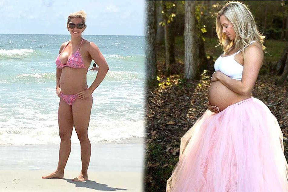 Hochschwangere rennt zum errechneten Geburtstermin bei Lauf-Event mit