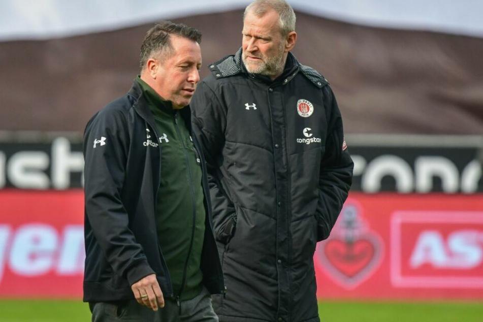 Trainer Markus Kauczinski und Sportchef Uwe Stöver wurden beim FC St. Pauli entlassen.