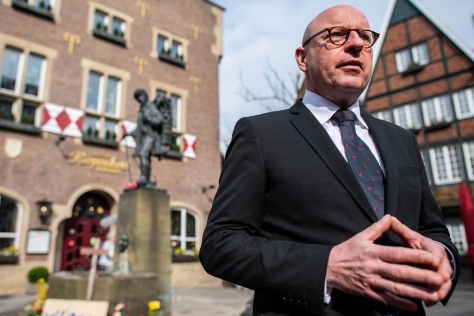 Markus Lewe, Münsters Oberbürgermeister betont den Zusammenhalt in der Stadt.