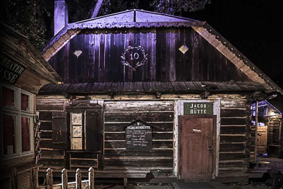 Die Märchenhütte wird für eine Nacht zur Westernscheune