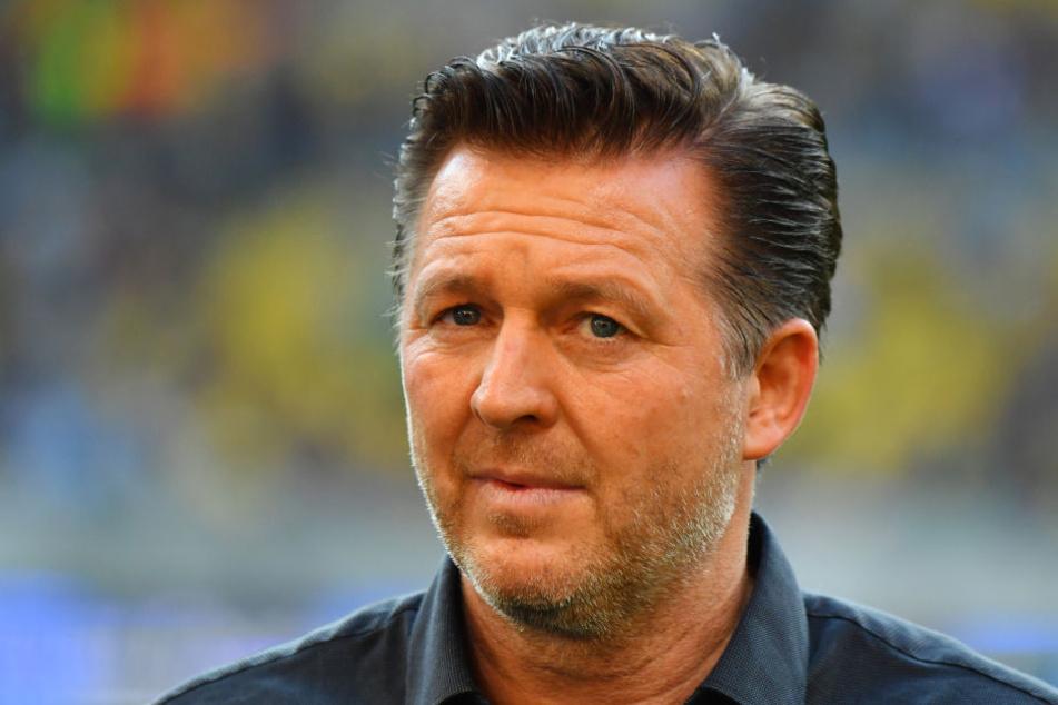 Beim Hinspiel war Christian Titz noch Trainer des HSV. Nun steht Hannes Wolf an der Seitenlinie.