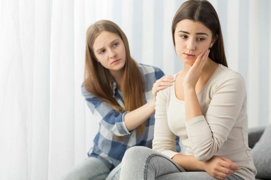 Die Frau will nach der Aktion nichts mehr mit ihrer Freundin zu tun haben. (Symbolbild)