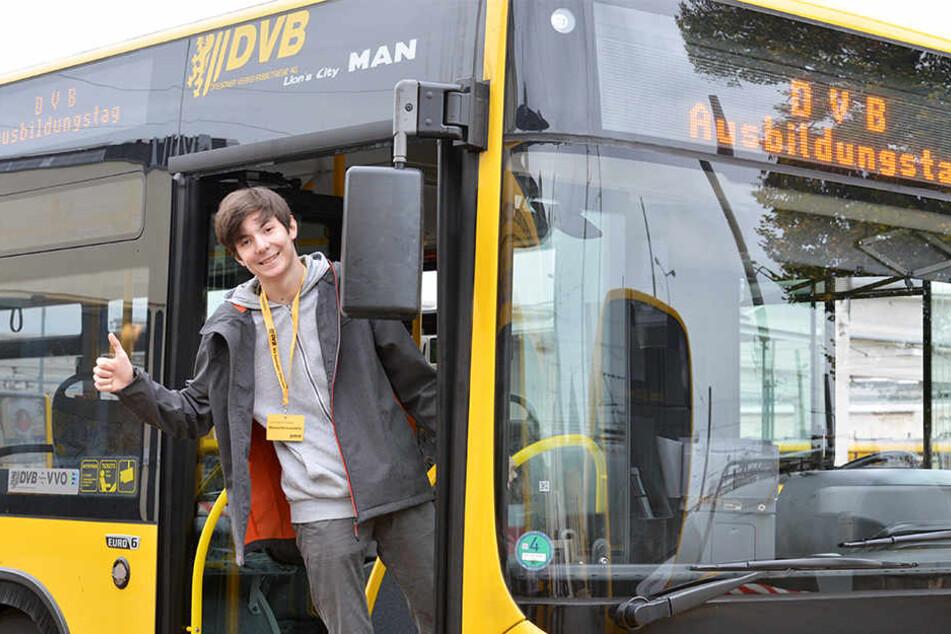 DVB suchen Nachwuchs: Wer hat Lust auf Bahn und Bus?