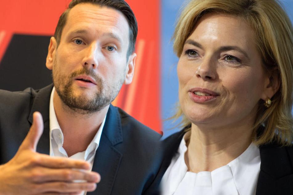 """""""Peinlicher Fehltritt"""": SPD rügt Klöckner nach Nestlé-Video"""