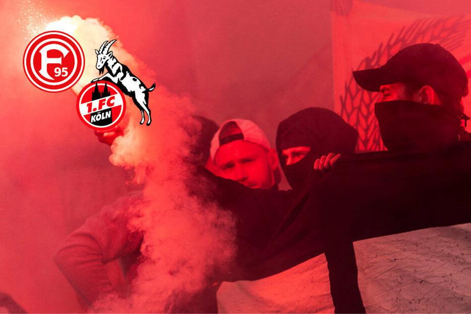Fortuna Düsseldorf gegen 1. FC Köln: Polizei mit Groß-Aufgebot beim Derby