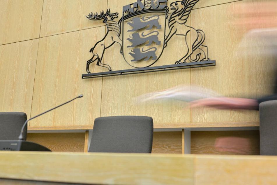 Vor dem Landgericht Mannheim wird das Urteil gesprochen.