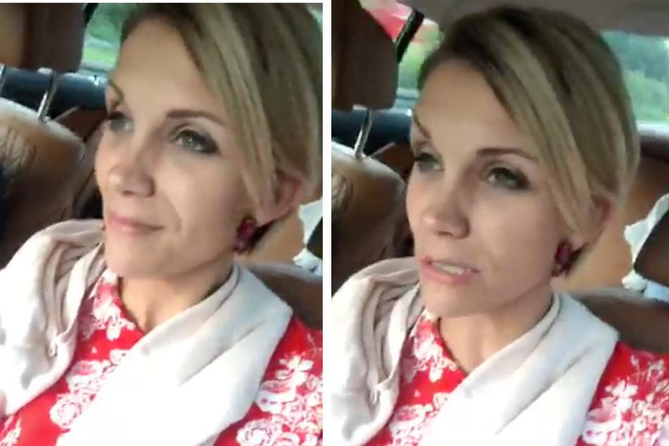"""Im Facebook-Video erzählt Anna-Maria Zimmermann ihren Fans von einem """"ganz großen Problem""""."""