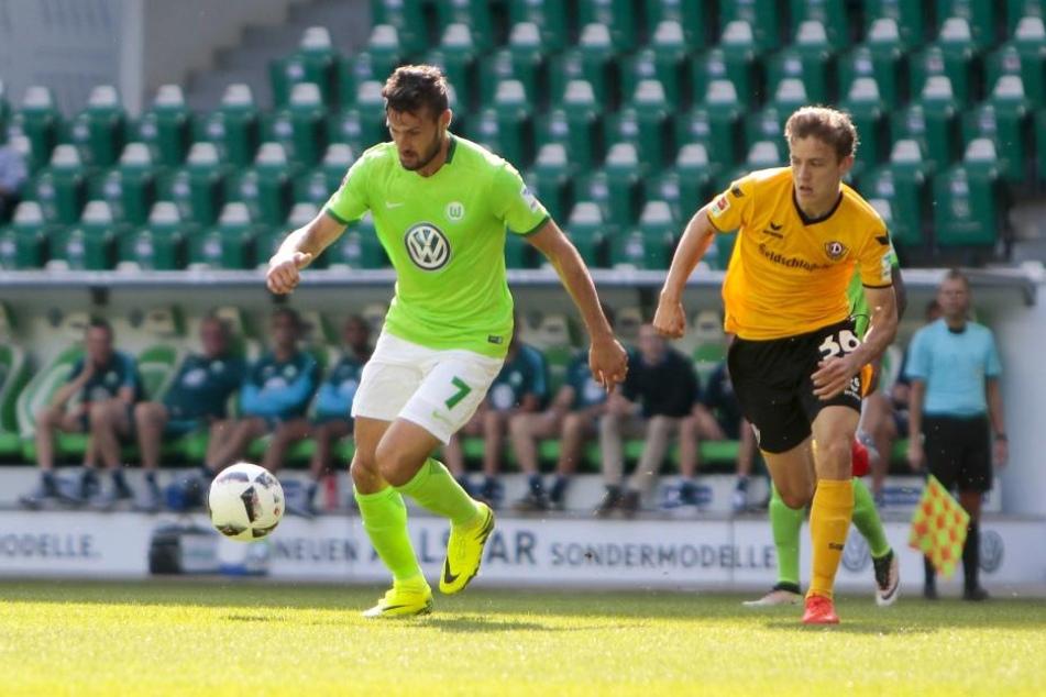 Niklas Hauptmann (r.) zeigte ein starkes Spiel.