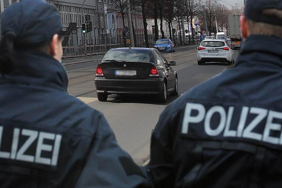 Bildmontage: Zivilfahnder schnappten in der Hamburger Straße einen europaweit gesuchten Straftäter.