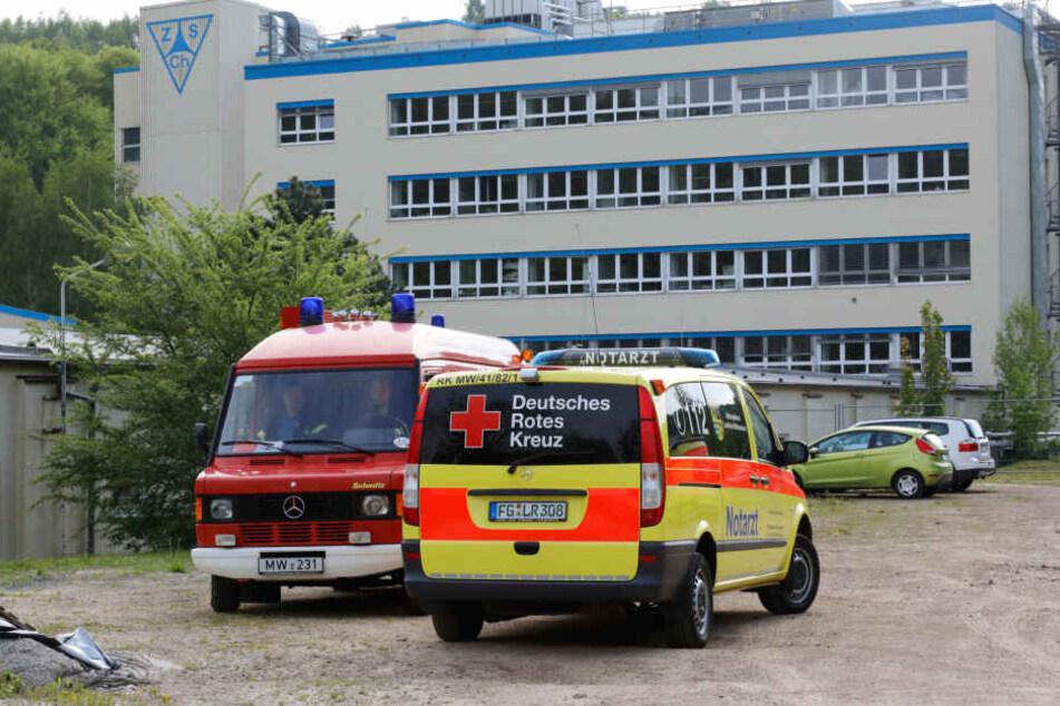 Chemie-Unfall auf Firmengelände: Mitarbeiter evakuiert