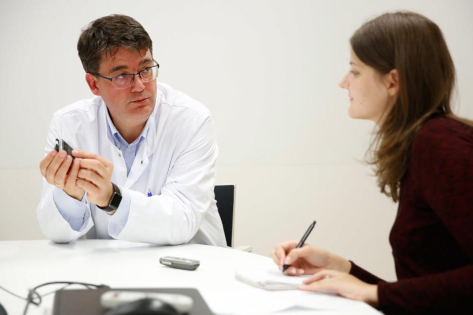 Michael Baumann spricht mit TAG24-Redakteurin auch über die Zukunft in Dresden.