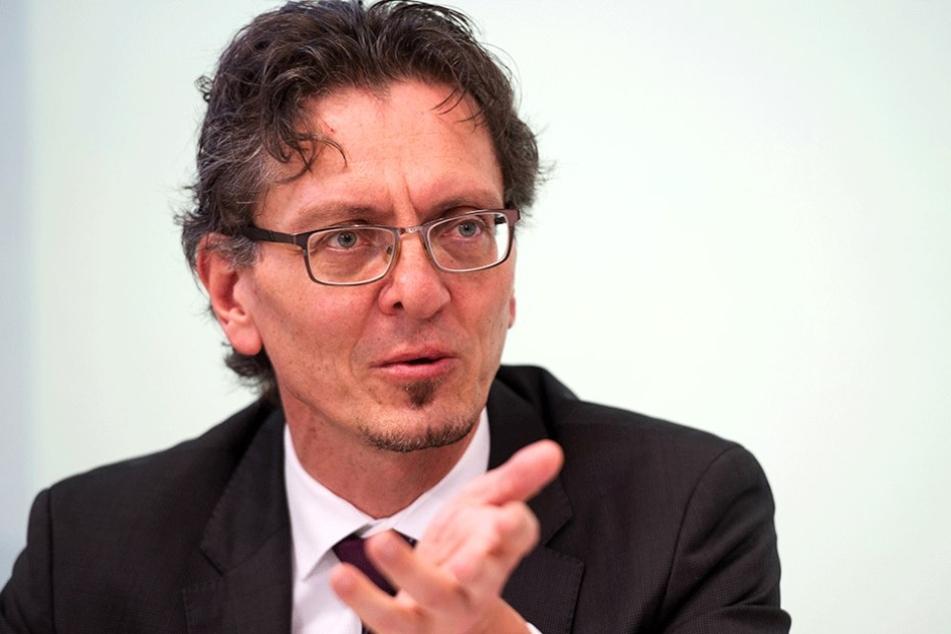 Der SPD-Vorsitzende Christian Gaebler von Charlottenburg-Wilmersdorf hat als Sportstaatsekrektär großen politischen Einfluss.