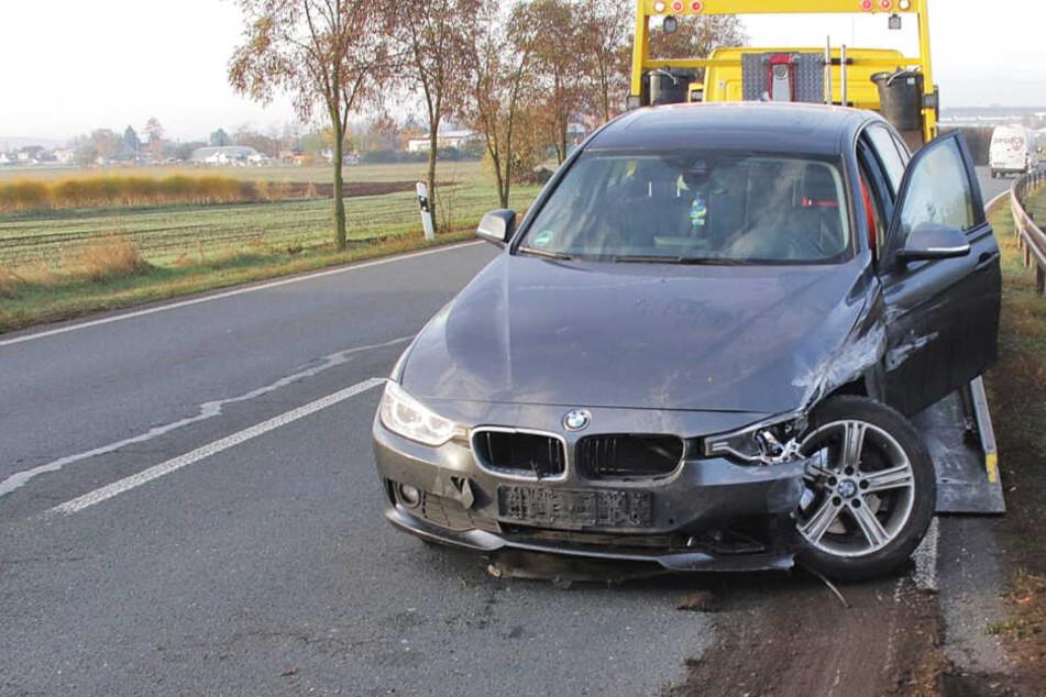 Vier Menschen saßen in dem Auto des betrunkenen Fahrers.