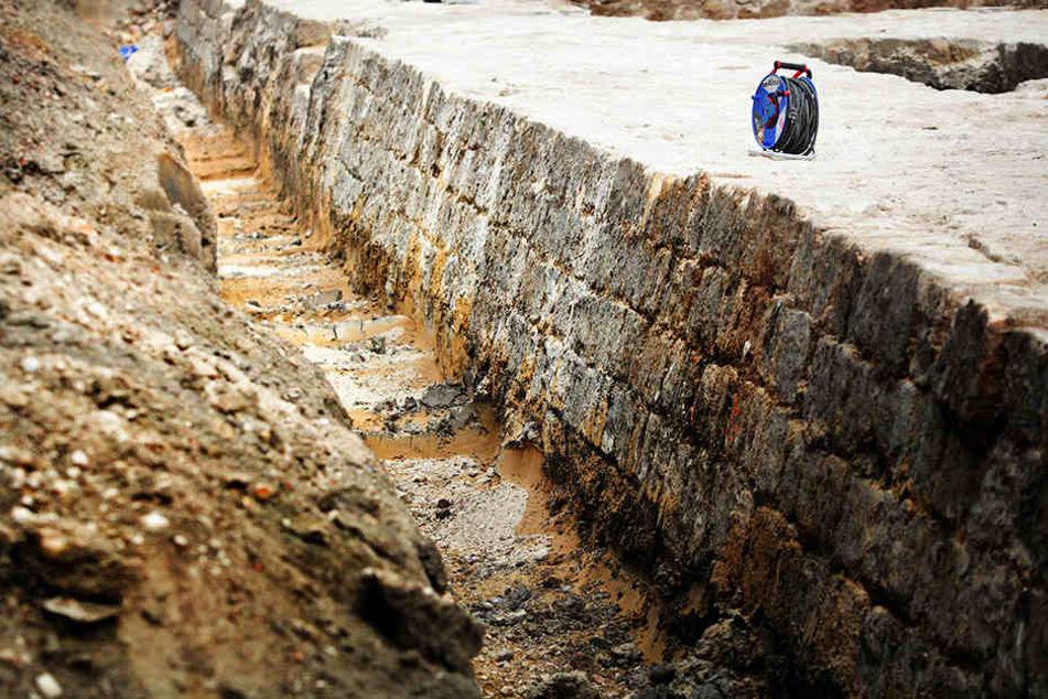 Die akkurat gesetzten Sandsteinquader bezeugen noch heute, wie sorgfältig die Handwerker vor über 450 Jahren gearbeitet haben.