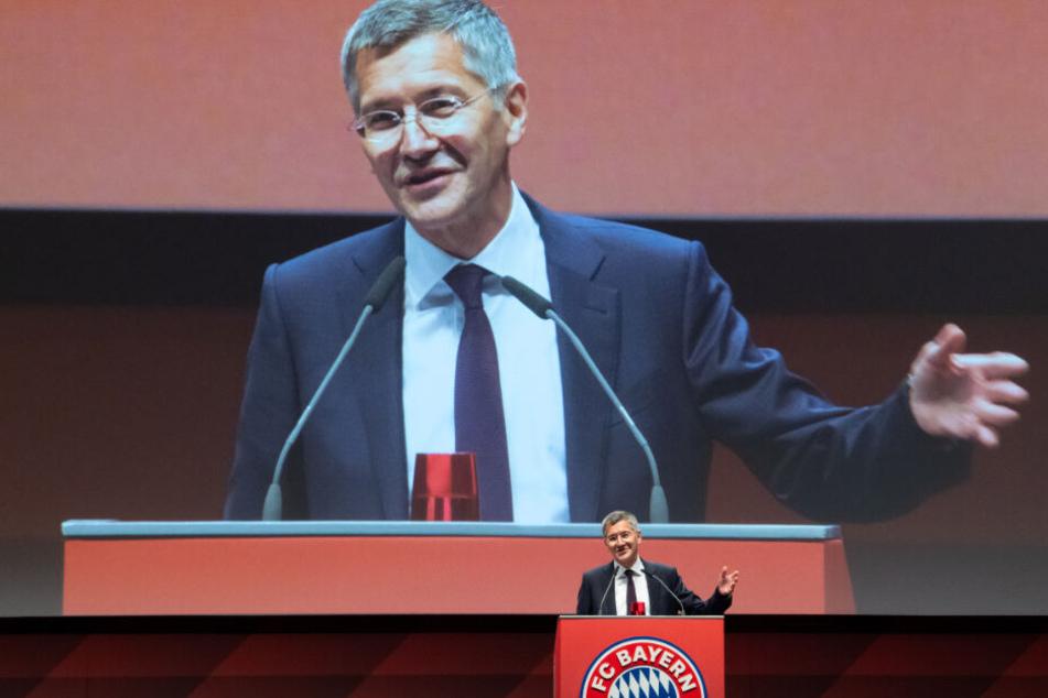 Mit 5976 Stimmen wurde Herbert Hainer zum neuen Präsidenten des FC Bayern Münchens gewählt.
