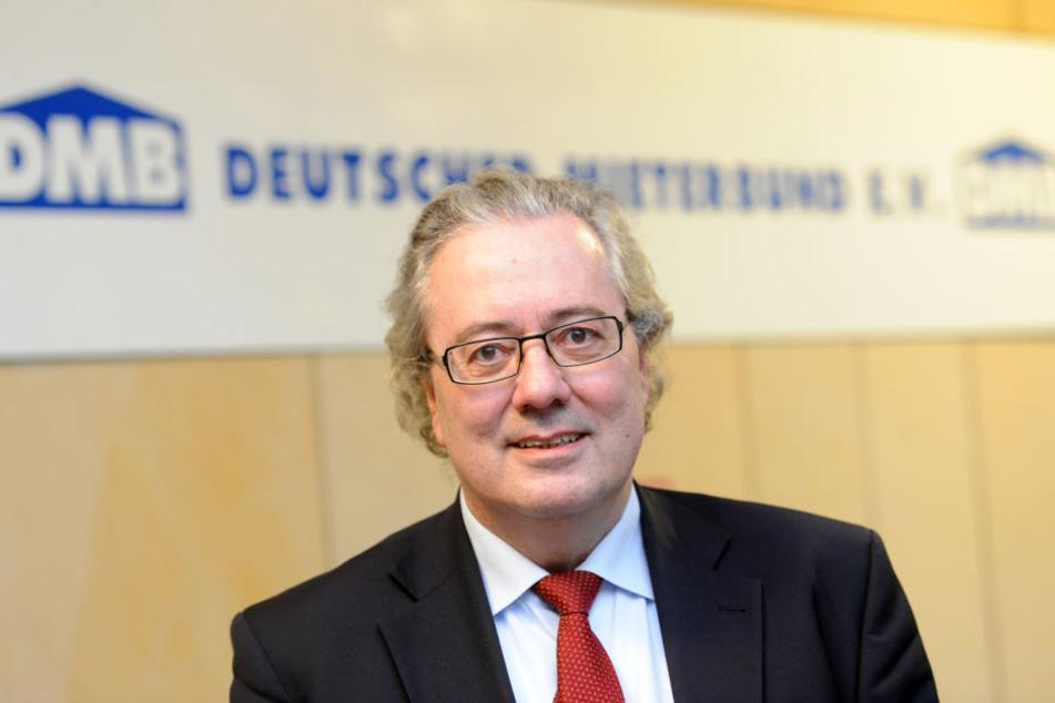 Der Deutsche Mieterbund (DMB) um Pressesprecher Ulrich Ropertz (Archivbild), übte starke Kritik am Vorschlag des Institus der deutschen Wirtschaft (IW).