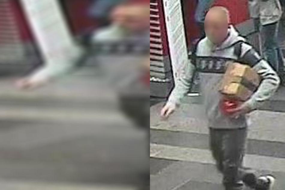Dreister Dieb: Dieser Mann klaute das Paket einfach aus dem Postauto