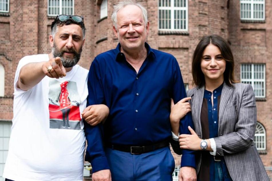 """Der 42-Jährige stand neben Axel Milberg und Almila Bagriacik für den neuen NDR-""""Tatort"""" vor der Kamera."""