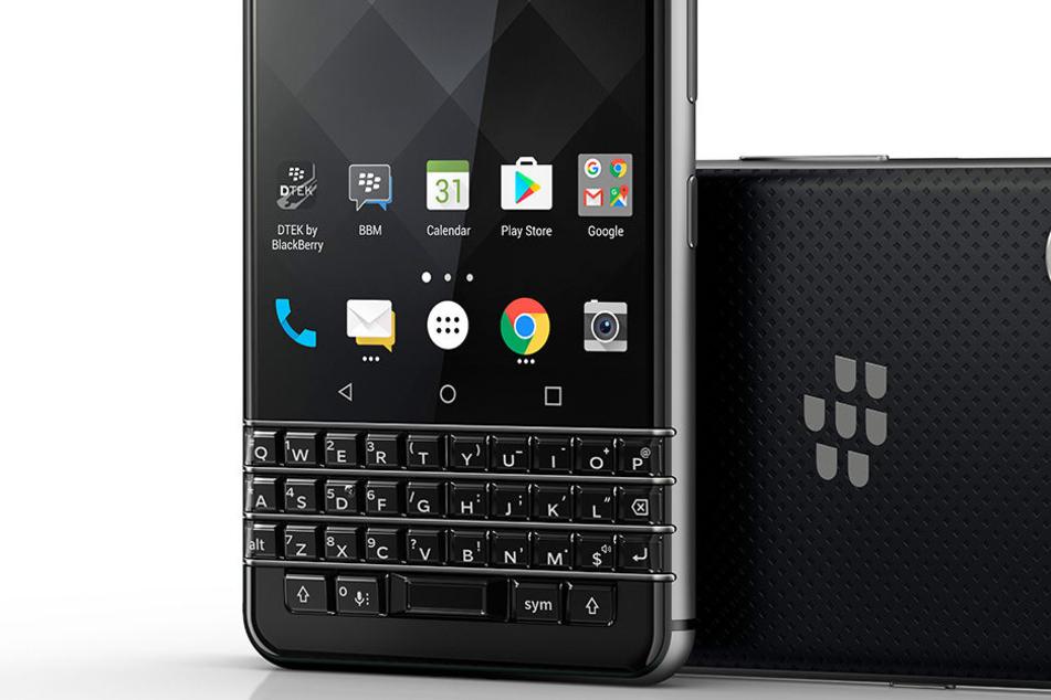 So sieht das neue Smartphone mit Tasten von Blackberry aus.