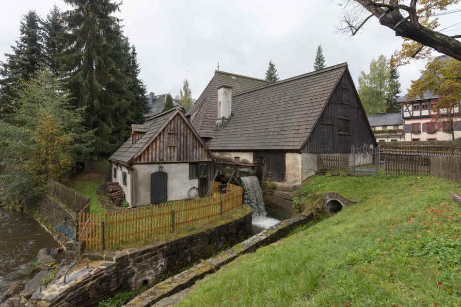 Das Erzgebirge ist reich an Kulturschätzen wie den Frohnauer Hammer.
