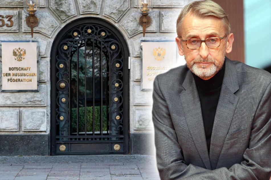 Schuster zu Berlin-Mord: Verstrickung Moskaus würde Beziehung schaden