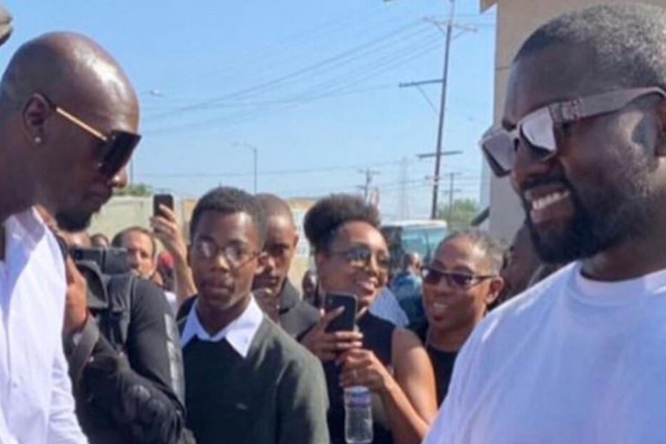 Kanye West hält Gottesdienst: Diese Hollywood-Ikone mischt sich unters Publikum!