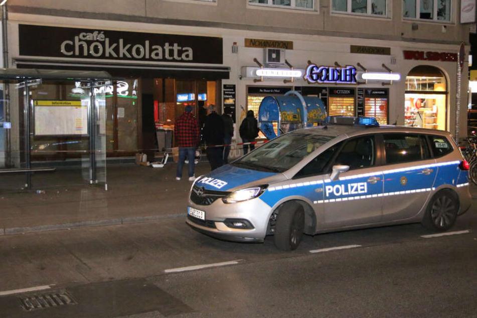 In das Juweliergeschäft in der Müllerstraße wurde eingebrochen.