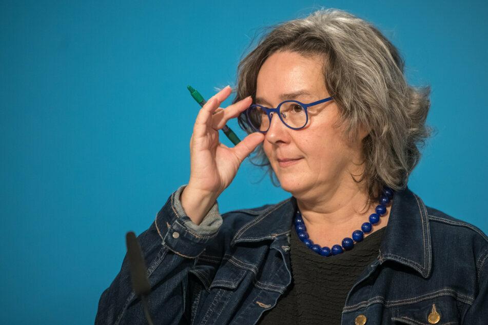 """Thüringens Gesundheitsministerin Heike Werner (52, Linke) ist zu Gast bei """"Fakt ist!"""" im MDR."""