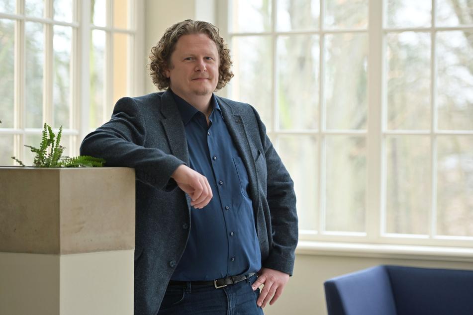 Lars Fassmann (42, parteilos) kritisiert das Russland-Sponsoring für Ulrich Oehme (60, AfD).