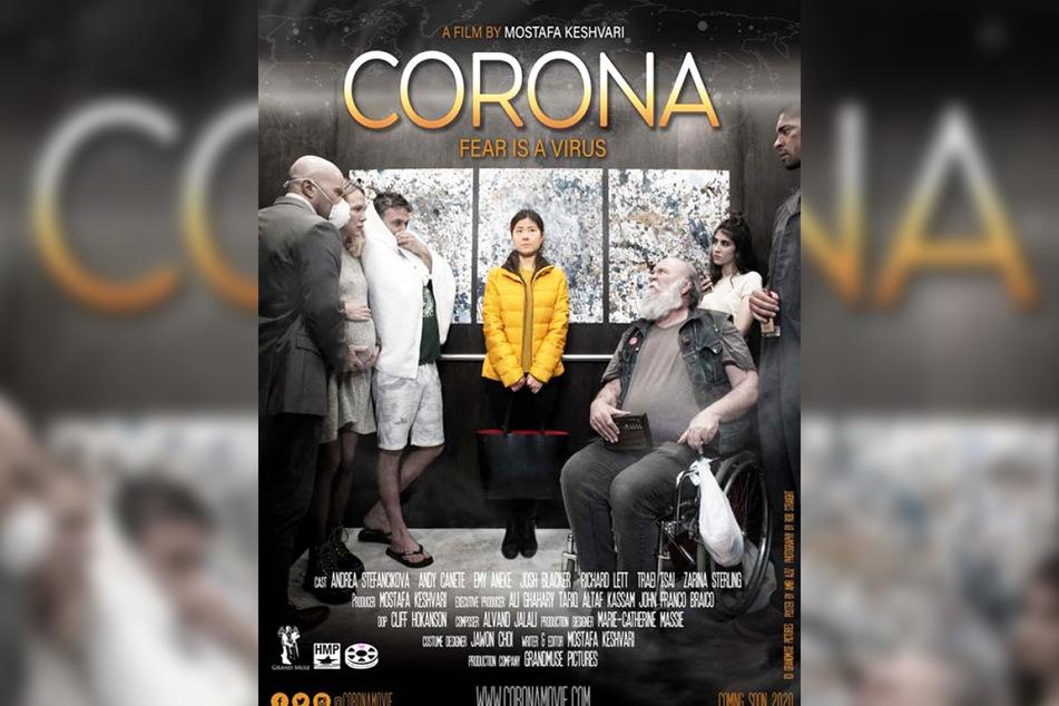 """Das Filmplakat zu """"Corona""""."""